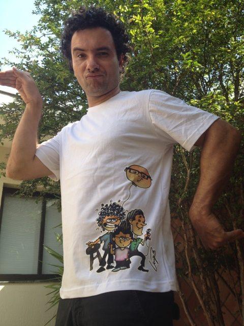 camiseta banquinho
