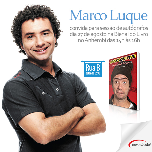Marco Luque na Bienal SP